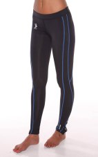 Compression Fabric Reflex Running Tights - 80% Nylon / 20% Spandex
